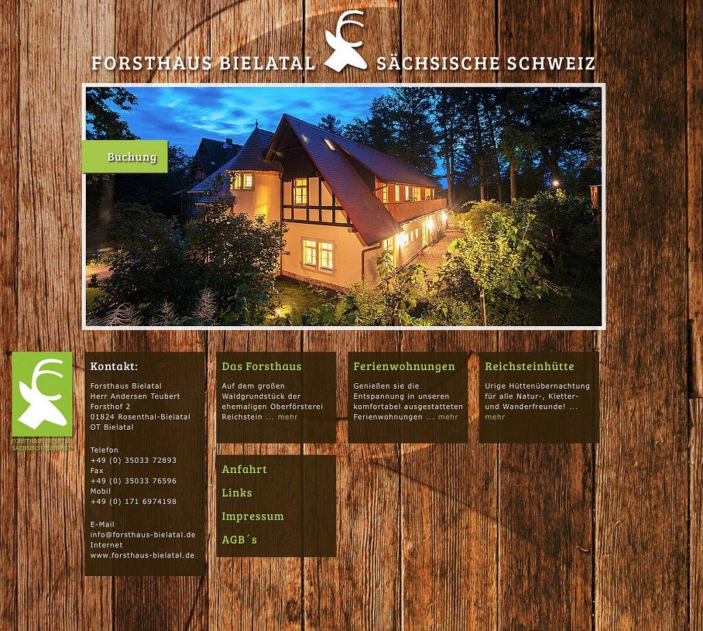 Forsthaus Bielatal
