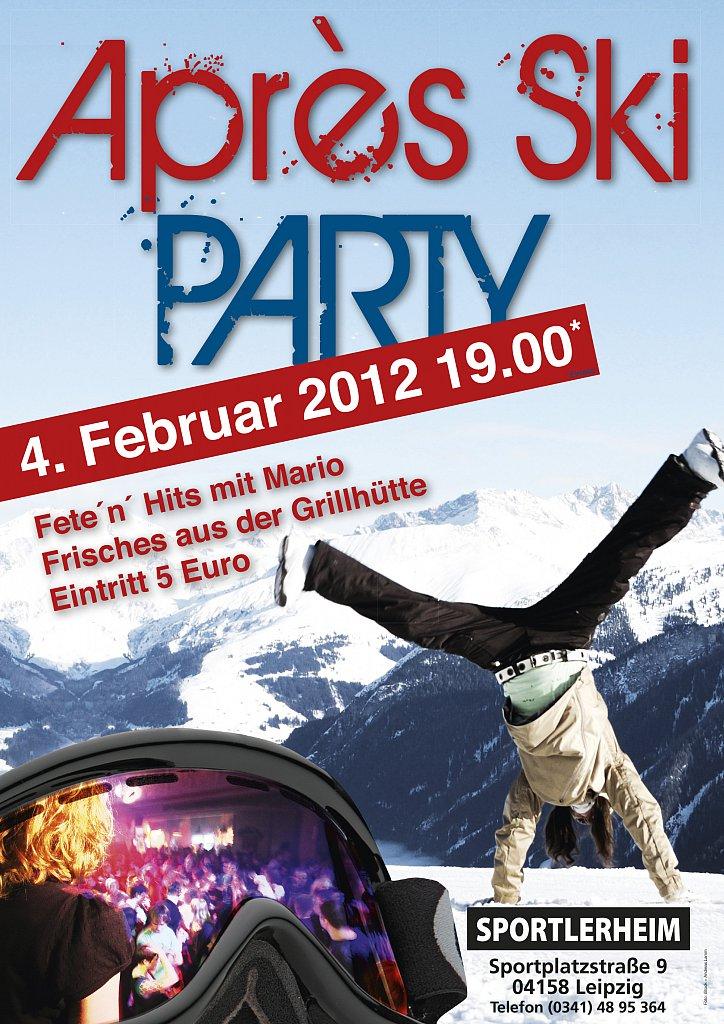 Apres Ski Party - Plakat