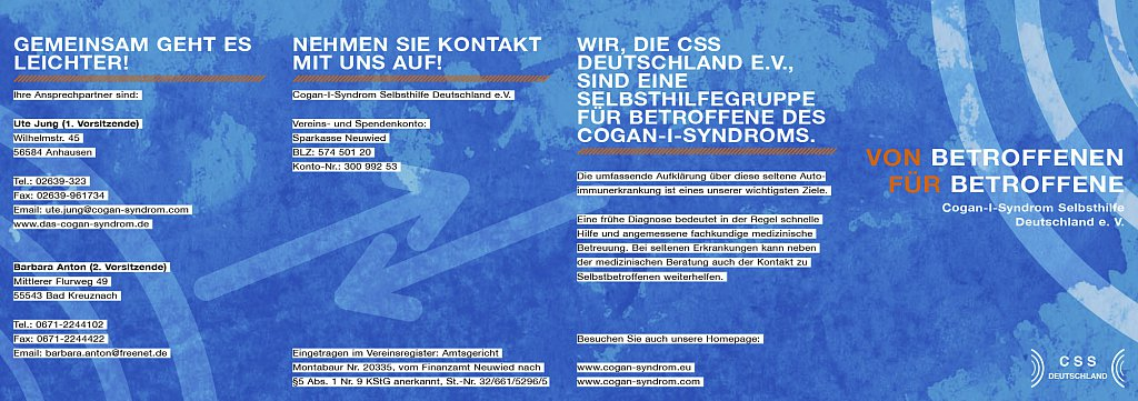 Flyer CSS Selbsthilfe